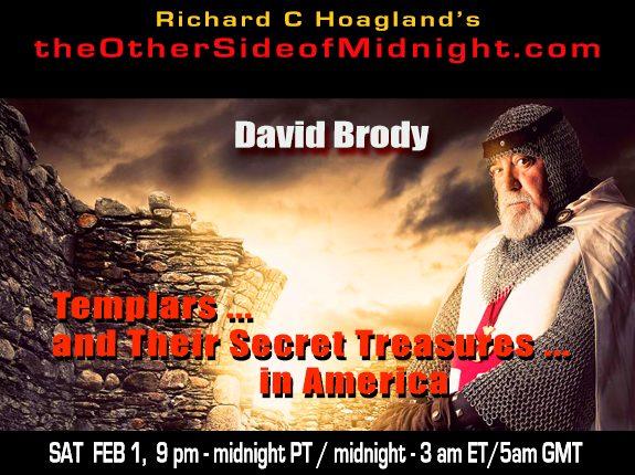 2020/02/01 – David Brody – Templars … and Their Secret Treasures … in America