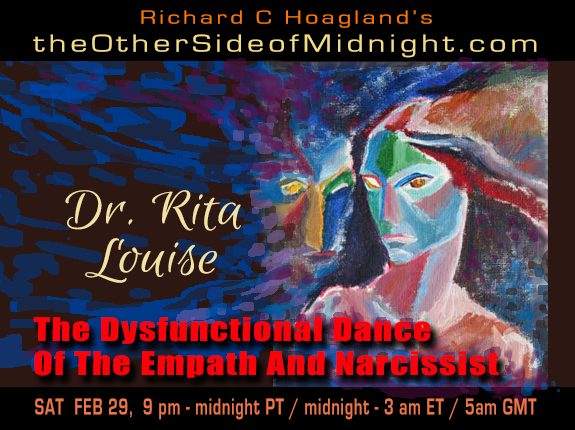 2020/02/29 – Dr. Rita Louise – The Dysfunctional Dance Of The Empath And Narcissist