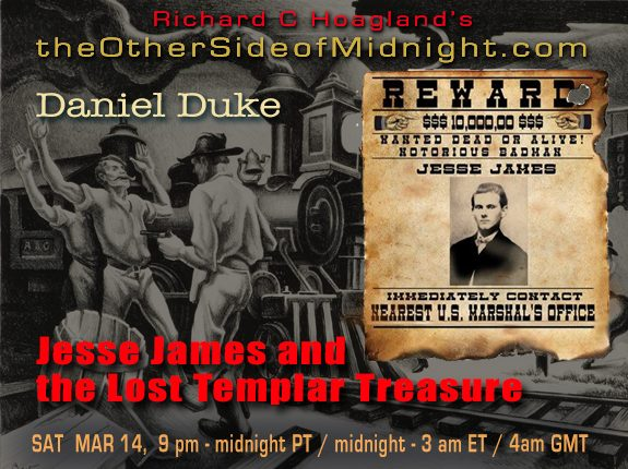 2020/03/14 – Daniel Duke – Jesse James and the Lost Templar Treasure