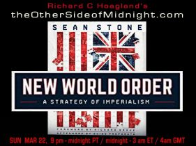 2020/03/22 – Sean Stone – Timothy Saunders, Georgia Lambert & Barbara Honegger – New World Order – A Strategy of Imperialism