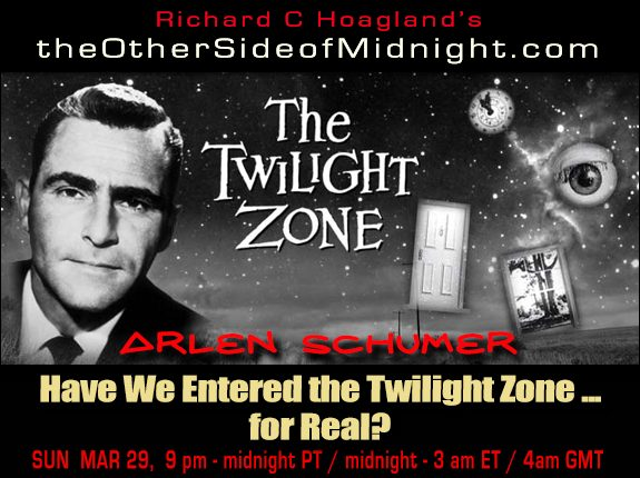 2020/03/29 – Arlen Schumer – Have We Entered the Twilight Zone … for Real?