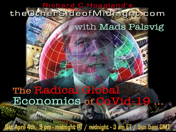 2020/04/04 – Mads Palsvig with Timothy Saunders & Georgia Lambert – The Radical Global Economics of CoVid-19 …