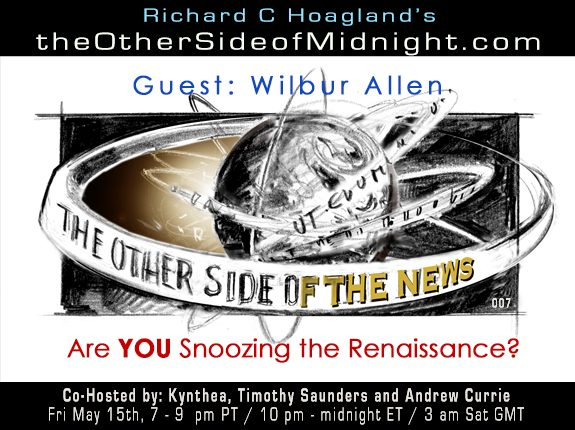 2020/05/15 – TOSN – 7 – Wilbur Allen – Are YOU Snoozing the Renaissance?
