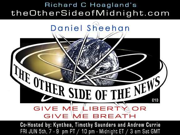 2020/06/05 – TOSN 10 – Daniel Sheehan – Give Me Liberty or Give Me Breath