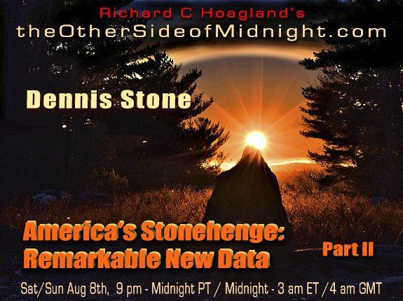 2020/08/08 – Dennis Stone – America's Stonehenge: Remarkable New Data / Part II