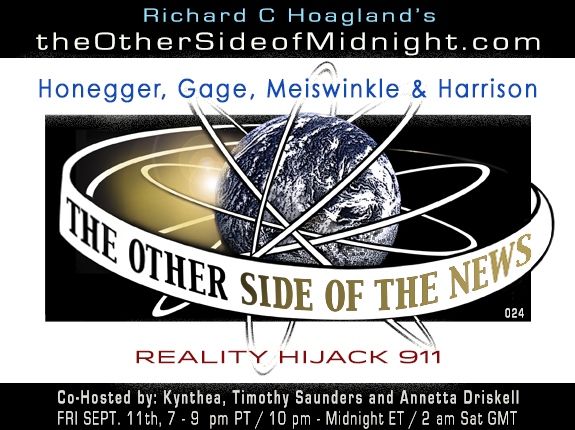 2020/09/11 – B. Honegger, R. Gage, D. Meiswinkle & M. Harrison – REALITY HIJACK 911 – TOSN 24