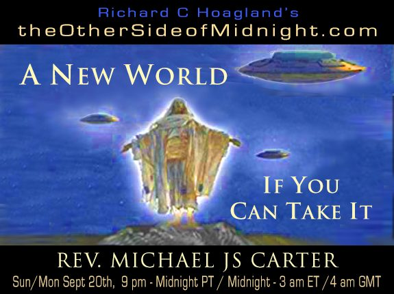 2020/09/20 – Rev. Michael JS Carter – A New World If You Can Take It