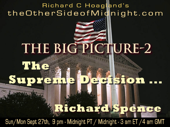 2020/10/04 – Dr. Richard Spence – The Supreme Decision …