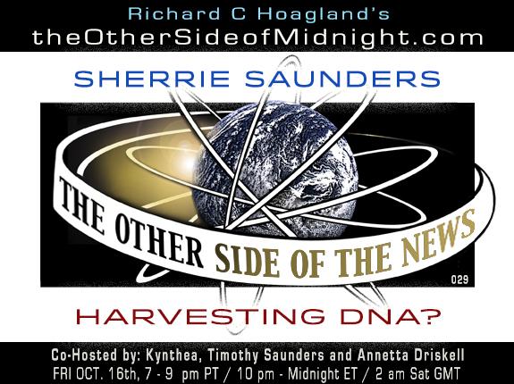 HARVESTING DNA?  – SHERRIE SAUNDERS  – TOSN-029