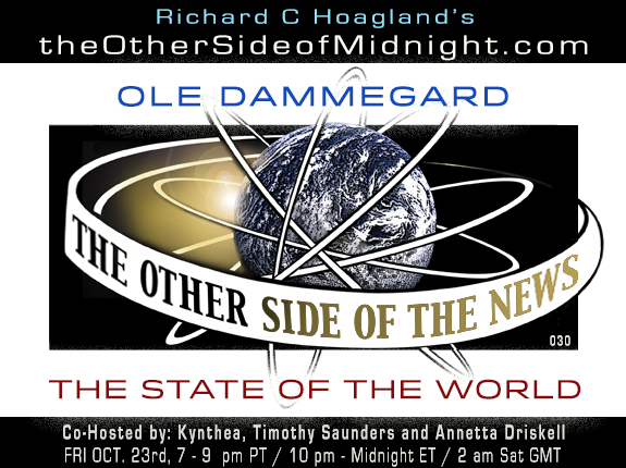 2020/10/23 – OLE DAMMEGARD – THE STATE OF THE WORLD – TOSN-030