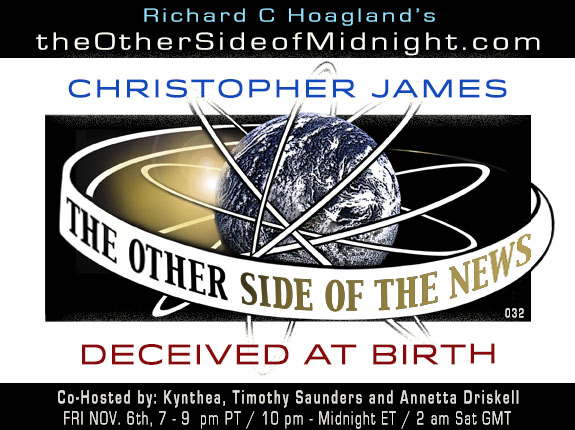 2020/11/06 – Christopher James – DECEIVED AT BIRTH – TOSN – 032