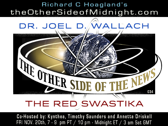 2020/11/20 –  Dr. Joel Wallach  – The Red Swastika – TOSN 34