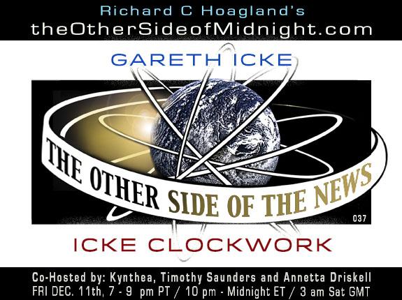 2020/12/11 – GARETH ICKE – ICKE CLOCKWORK – TOSN 037