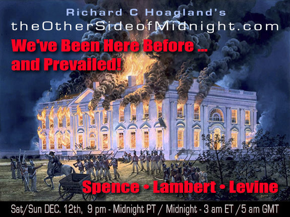 2021/01/02 – Richard Spence, Georgia Lambert, Rick Levine – We've Been Here Before … and Prevailed!