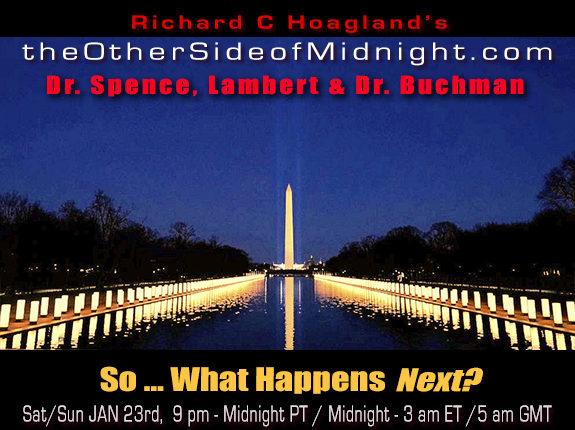 2021/01/23 – Dr. Richard Spence, Georgia Lambert & Dr. Buchman – So … What Happens Next?