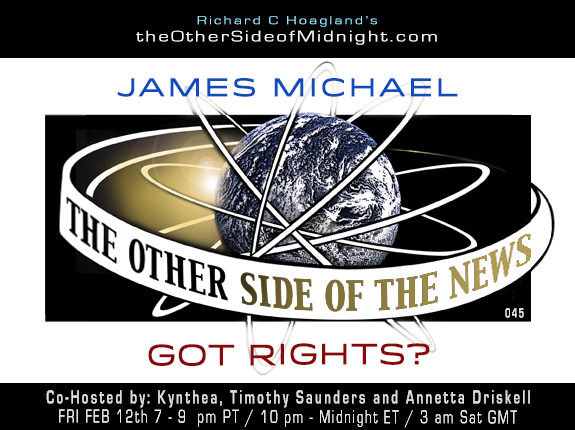 2021/02/12 – JAMES MICHAEL – GOT RIGHTS? – TOSN 45