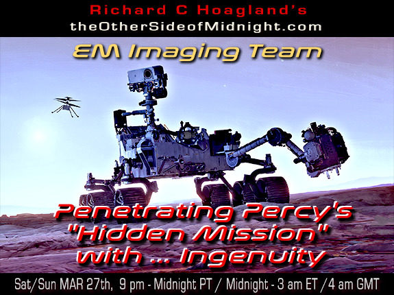 "2021/03/27 – EM Imaging Team – Penetrating Percy's ""Hidden Mission"" with … Ingenuity"