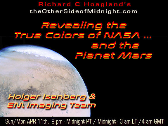 2021/04/10 – Holger Isenberg & EM Imaging Team – Revealing the True Colors of NASA … and the Planet Mars