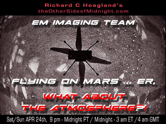 2021/04/24 – EM Imaging Team – Flying on Mars … er, what about The Atmosphere?!