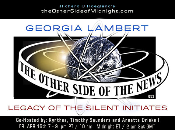 2021/04/16 – Georgia Lambert – Legacy of the Silent Initiates – TOSN-53