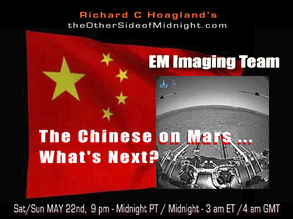 2021/05/23 – EM Imaging Team – The Chinese on Mars …What's Next?