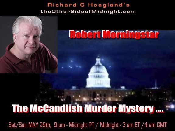 POSTPONED: 2021/05/29 – Robert Morningstar – The McCandlish Murder Mystery ….