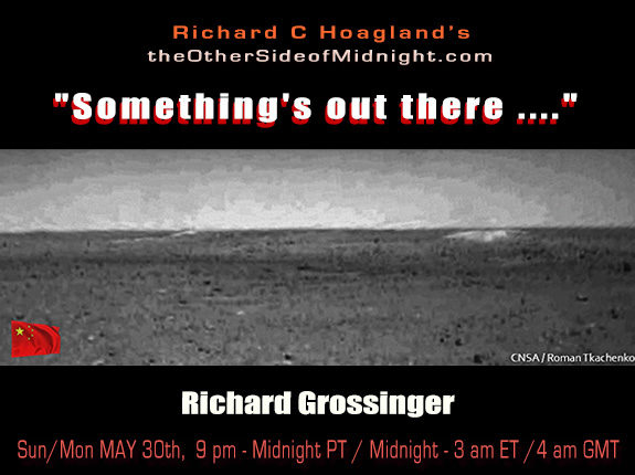 """2021/06/06 – Richard Grossinger  – """"Something's out there …."""""""