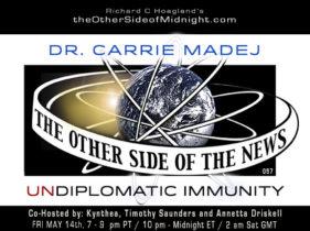 2021/05/14 – DR. CARRIE MADEJ – UNDIPLOMATIC IMMUNITY – TOSN-57