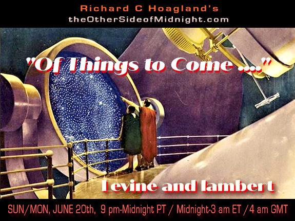 """2021/06/20 – Rick Levine – Georgia Lambert – """"Of Things to Come …."""""""
