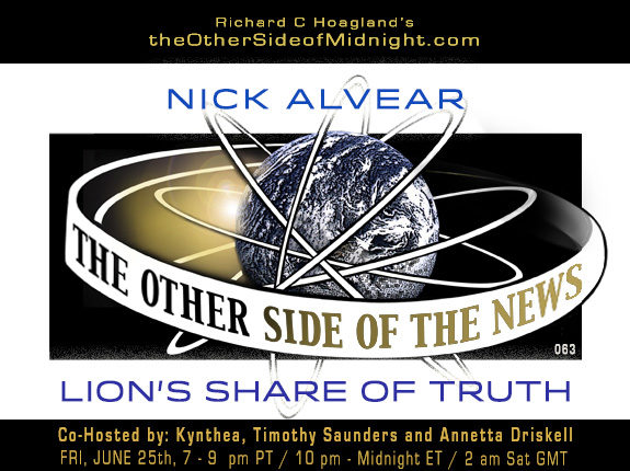 2021/06/25 – Nick Alvear – Lion's Share of Truth – TOSN-63