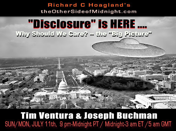 """2021/07/11- Tim Ventura – """"Disclosure"""" is HERE ….Why Should We Care? — the """"Big Picture"""""""