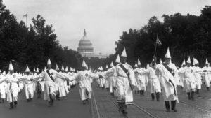 KKK march, 1925