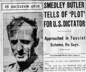 Gen. Smedley Butler and the Business Plot