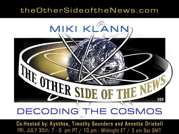 2021/07/30 – MIKI KLANN – DECODING THE COSMOS – TOSN-068