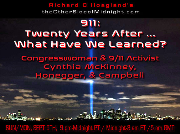 2021/09/05 – McKinney, Honegger and Campbell  – 911:  Twenty Years After … What Have We Learned?