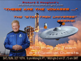 """2021/10/16 – EM Imaging Team, Scratch Mitchell & Doug Plata – """"These are the Voyages ….""""    The """"Star Trek Universe"""" Begins!"""